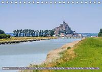 Le Mont-Saint-Michel - Sagenumwobener Klosterberg im Watt (Tischkalender 2019 DIN A5 quer) - Produktdetailbild 5