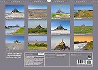 Le Mont-Saint-Michel - Sagenumwobener Klosterberg im Watt (Wandkalender 2019 DIN A3 quer) - Produktdetailbild 13
