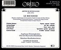 Le Roi David-Psaume Symphonique - Produktdetailbild 1