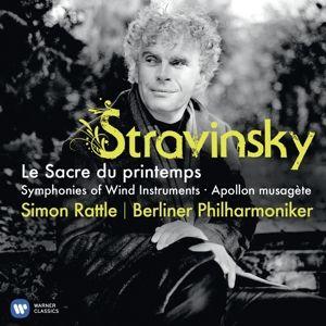 Le Sacre Du Printemps/Apollon, Simon Rattle, Bp