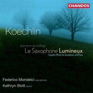 Le Saxophone Lumineux, F. Mondelci, K Stott
