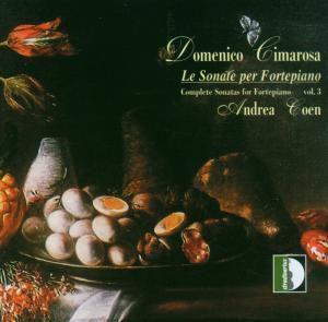 Le Sonate Per Fortepiano 3, Andrea Coen