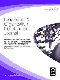 Leadership & Organizational Development Journal: Leadership & Organizational Development Journal, Volume 27, Issue 6