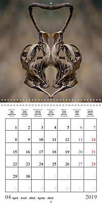 Leaf Art 2019 (Wall Calendar 2019 300 × 300 mm Square) - Produktdetailbild 4