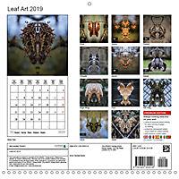 Leaf Art 2019 (Wall Calendar 2019 300 × 300 mm Square) - Produktdetailbild 13
