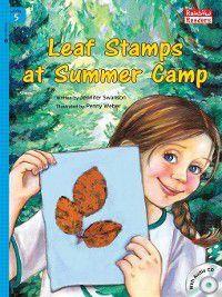 Leaf Stamps at Summer Camp, Jennifer Swanson