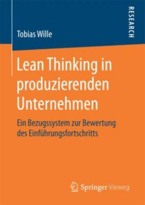 Lean Thinking in produzierenden Unternehmen, Tobias Wille