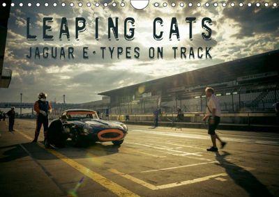 Leaping Cats - Jaguar E-Types on Track (Wandkalender 2019 DIN A4 quer), Johann Hinrichs