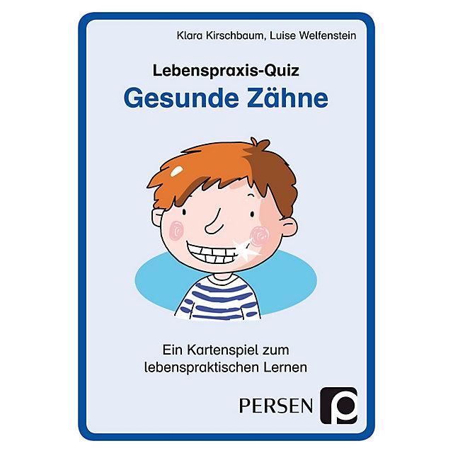 Lebenspraxis Quiz Gesunde Zähne Kartenspiel Buch Weltbildde