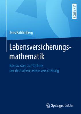 Lebensversicherungsmathematik, Jens Kahlenberg