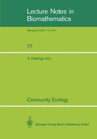 Lecture Notes in Biomathematics: Community Ecology