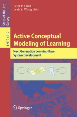 Lecture Notes in Computer Science: Active Conceptual Modeling of Learning