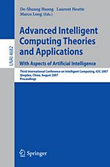 Advanced Intelligent Computing Theories and Applications, 2 Teile Buch