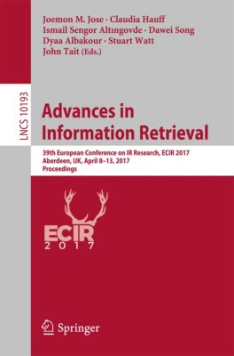 Lecture Notes in Computer Science: Advances in Information Retrieval