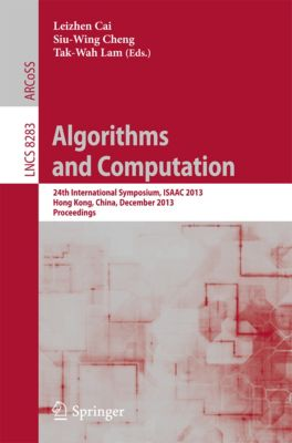 Lecture Notes in Computer Science: Algorithms and Computation