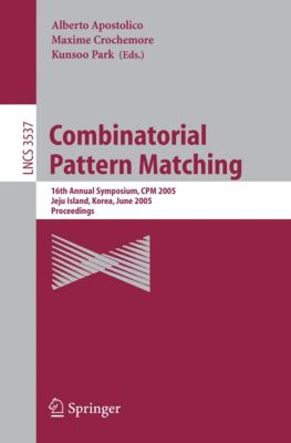 Lecture Notes in Computer Science: Combinatorial Pattern Matching