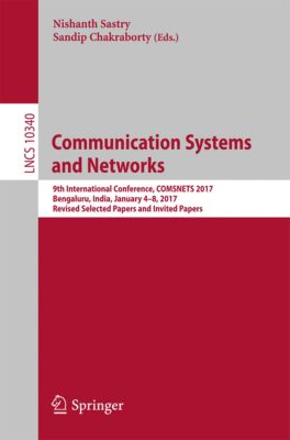 Lecture Notes in Computer Science: Communication Systems and Networks