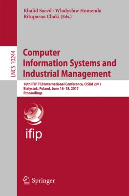 Lecture Notes in Computer Science: Computer Information Systems and Industrial Management
