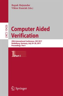 Lecture Notes in Computer Science: Computer Aided Verification