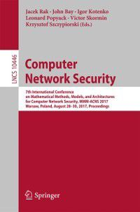 Lecture Notes in Computer Science: Computer Network Security