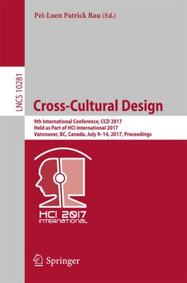Lecture Notes in Computer Science: Cross-Cultural Design