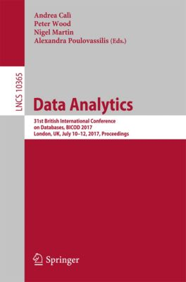 Lecture Notes in Computer Science: Data Analytics