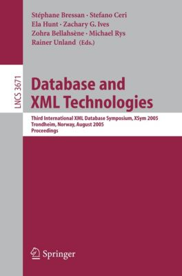 Lecture Notes in Computer Science: Database and XML Technologies