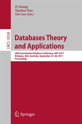 Lecture Notes in Computer Science: Databases Theory and Applications