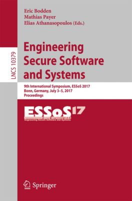 Lecture Notes in Computer Science: Engineering Secure Software and Systems