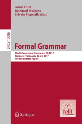 Lecture Notes in Computer Science: Formal Grammar