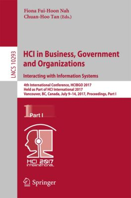 Lecture Notes in Computer Science: HCI in Business, Government and Organizations. Interacting with Information Systems