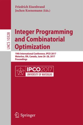 Lecture Notes in Computer Science: Integer Programming and Combinatorial Optimization