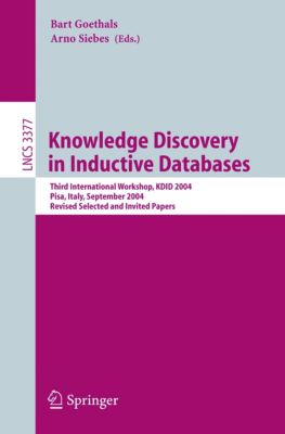 Lecture Notes in Computer Science: Knowledge Discovery in Inductive Databases