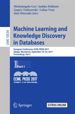 Lecture Notes in Computer Science: Machine Learning and Knowledge Discovery in Databases