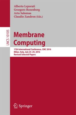 Lecture Notes in Computer Science: Membrane Computing