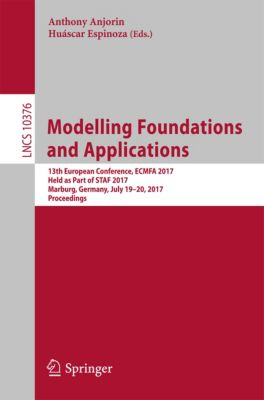 Lecture Notes in Computer Science: Modelling Foundations and Applications