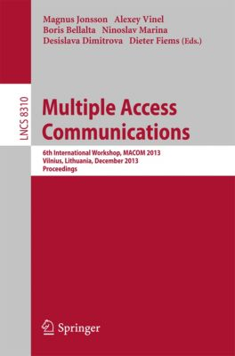Lecture Notes in Computer Science: Multiple Access Communications
