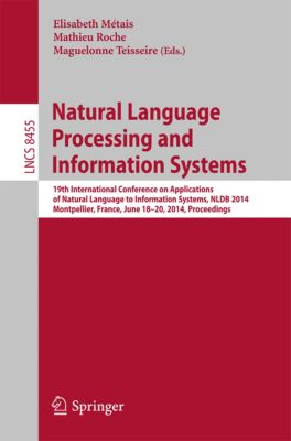 Lecture Notes in Computer Science: Natural Language Processing and Information Systems