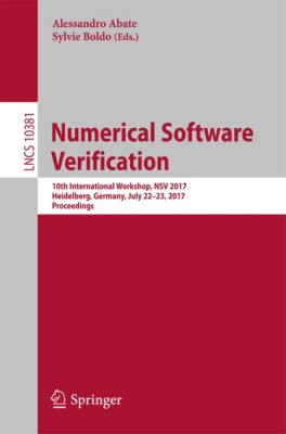 Lecture Notes in Computer Science: Numerical Software Verification