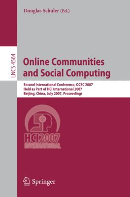 Lecture Notes in Computer Science: Online Communities and Social Computing