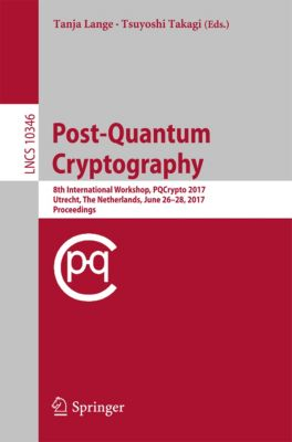 Lecture Notes in Computer Science: Post-Quantum Cryptography