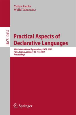 Lecture Notes in Computer Science: Practical Aspects of Declarative Languages