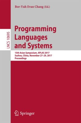 Lecture Notes in Computer Science: Programming Languages and Systems