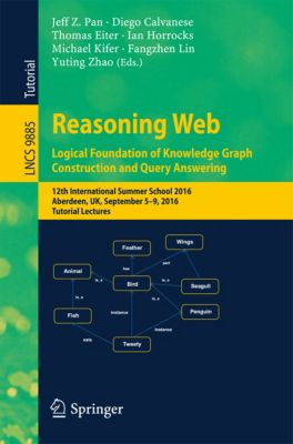 Lecture Notes in Computer Science: Reasoning Web: Logical Foundation of Knowledge Graph Construction and Query Answering