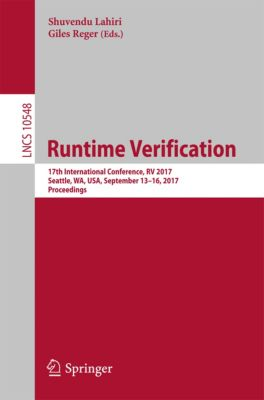 Lecture Notes in Computer Science: Runtime Verification