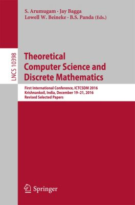 Lecture Notes in Computer Science: Theoretical Computer Science and Discrete Mathematics