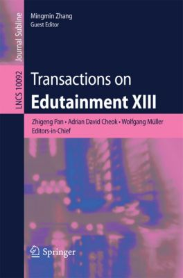 Lecture Notes in Computer Science: Transactions on Edutainment XIII