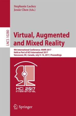 Lecture Notes in Computer Science: Virtual, Augmented and Mixed Reality