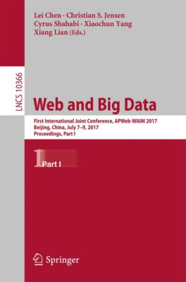 Lecture Notes in Computer Science: Web and Big Data