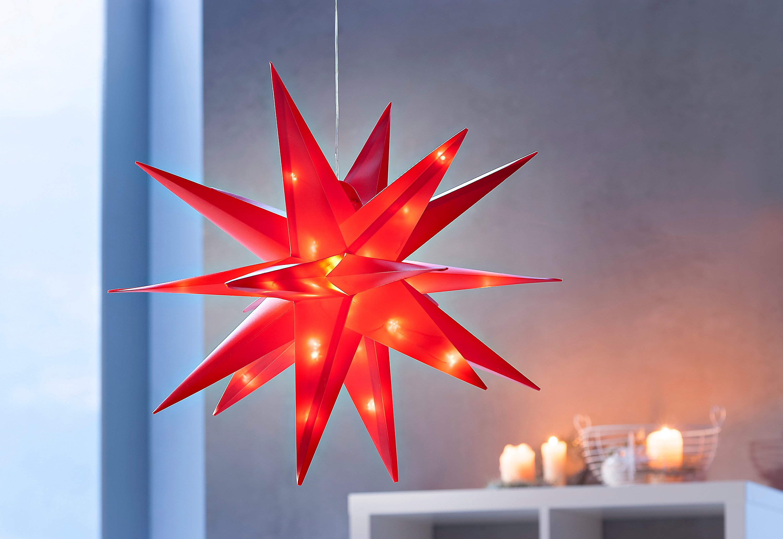 Stern Weihnachten.Led Außenstern Weihnachten Rot Jetzt Bei Weltbild De Bestellen